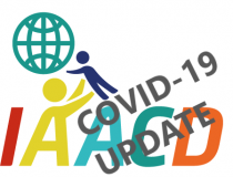 IAACD logo with Covid-19 update