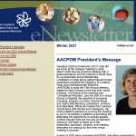 AACPDM Winter 2021 Newsletter