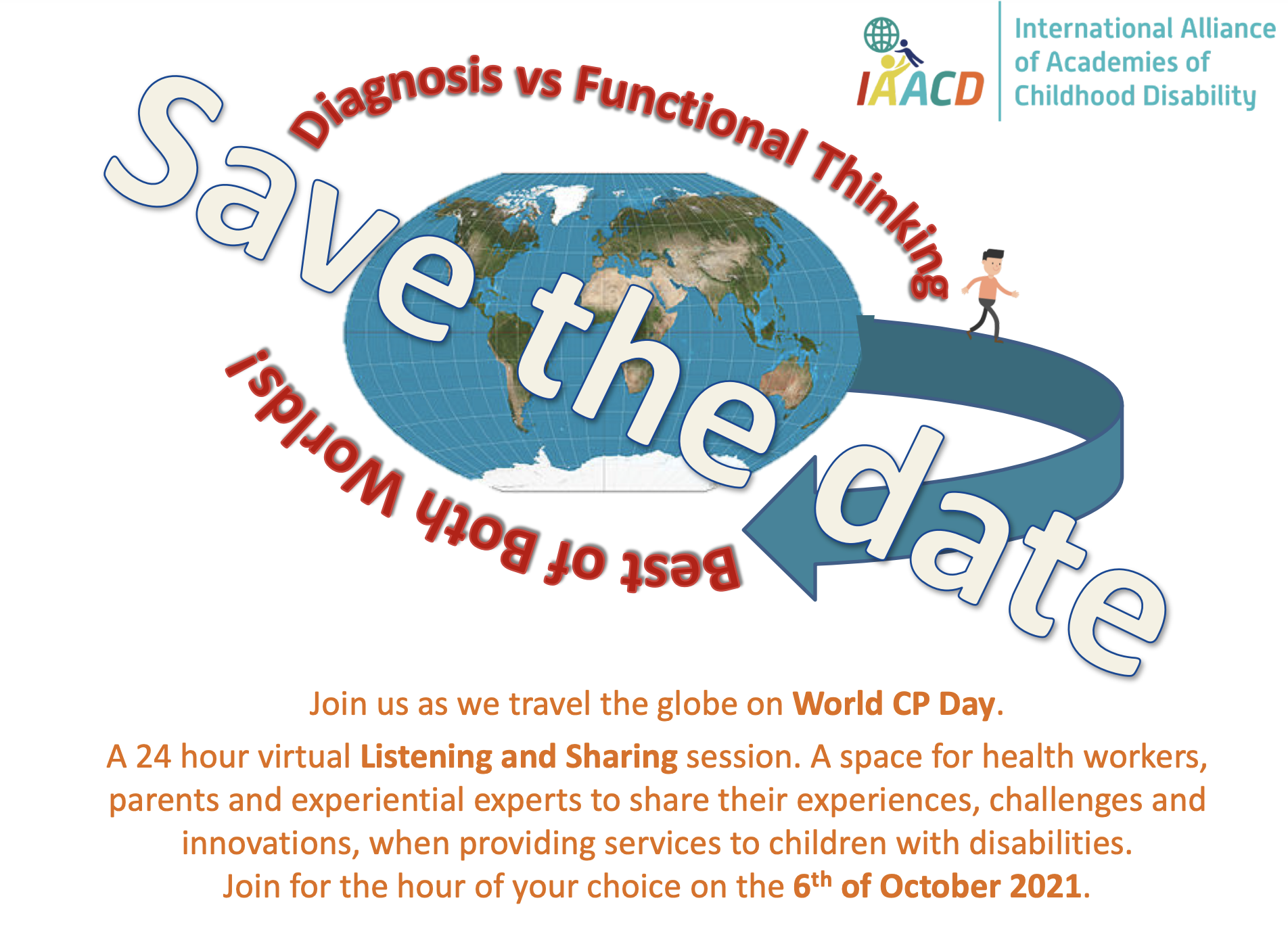 World CP day save the day image